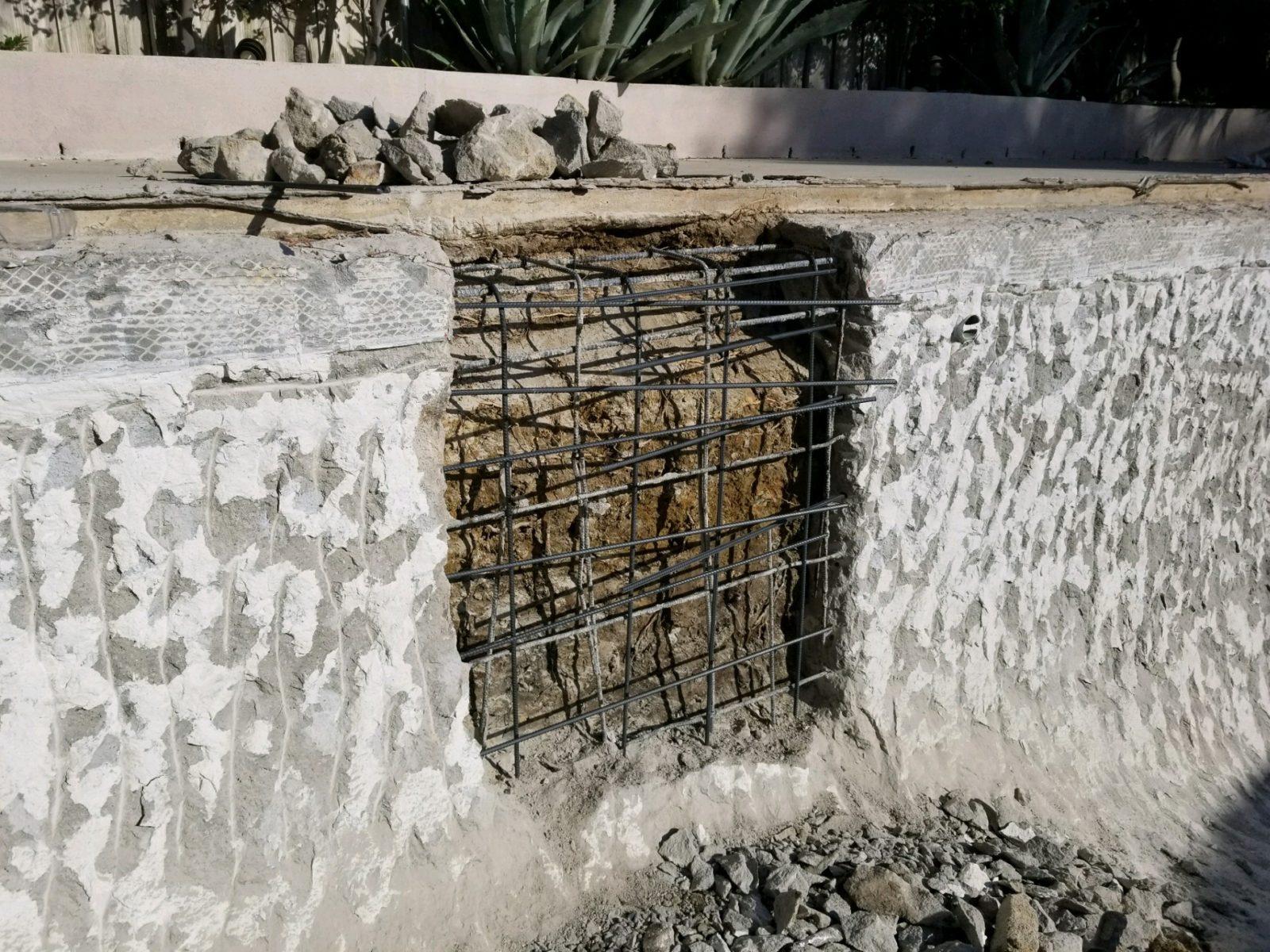 Pool Crack Repair